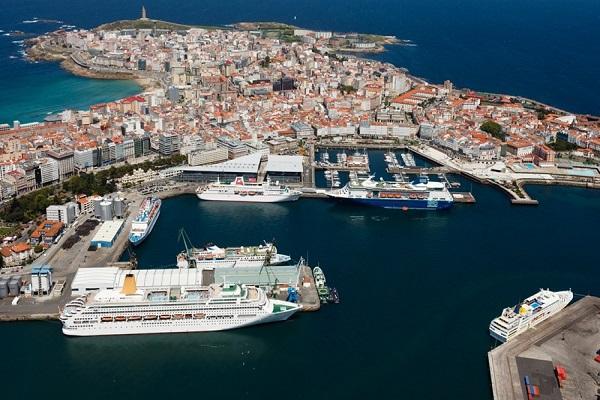Puerto de La Coruña aumenta 7% el tráfico de mercancías hasta agosto
