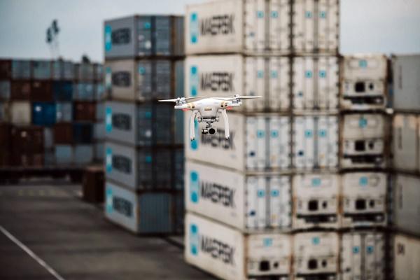 apm terminals drones