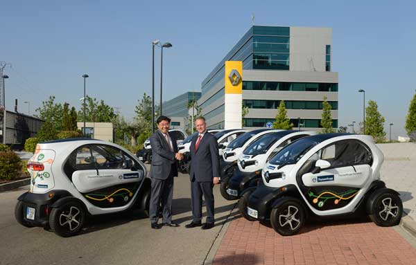 carsharing con Renault