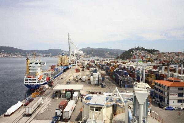 Puerto de Marín aumenta un 2,85% el tráfico de mercancías hasta agosto