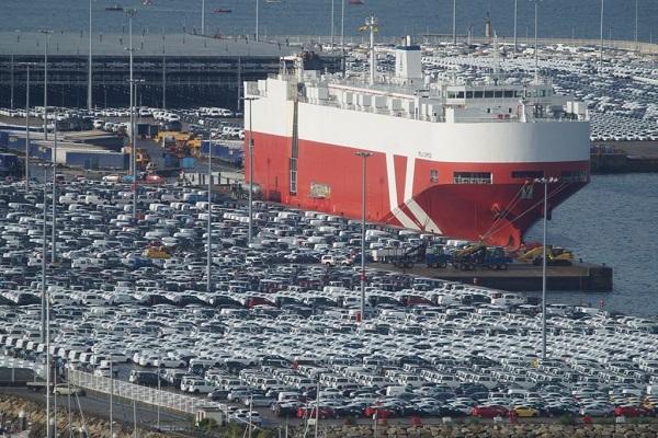 Puerto de Vigo desciende un 10% el tráfico de mercancías en septiembre