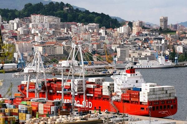 Puerto de Vigo mueve 2.781.227 toneladas de mercancía hasta agosto