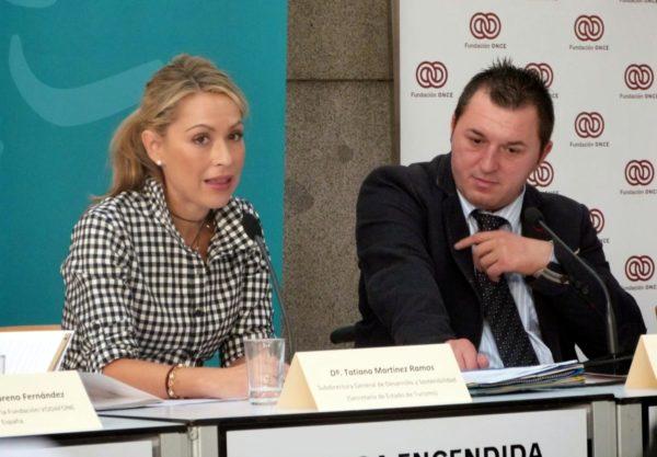 Tatiana Martínez Ramos e Iruela