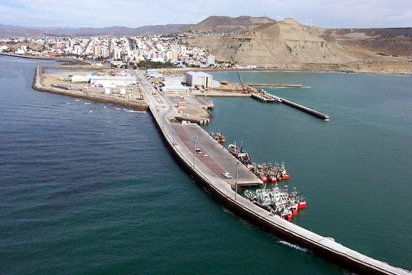 puerto de Comodoro Rivadavia