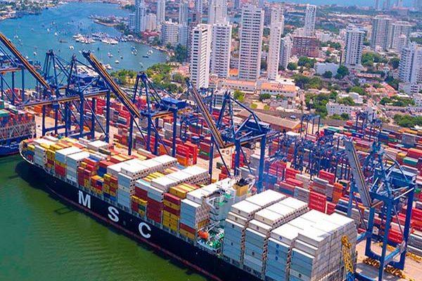 puertos de colombia