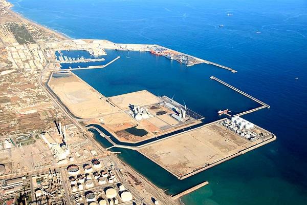 Puerto de Castellón inicia las obras de ampliación de la dársena sur