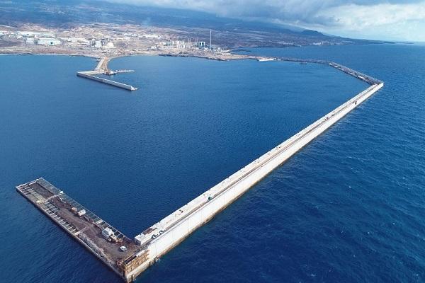 Puerto de Granadilla dispondrá de nueva explanada para tráfico portuario