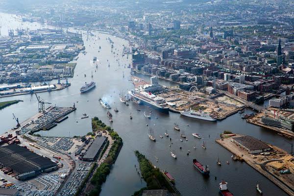 Puerto de Hamburgo aumenta 4% el uso del transporte ferroviario de mercancías