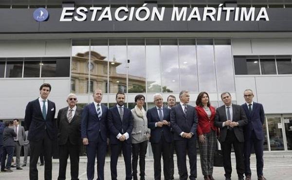 Puerto de Málaga estrena las instalaciones de la Estación Marítima