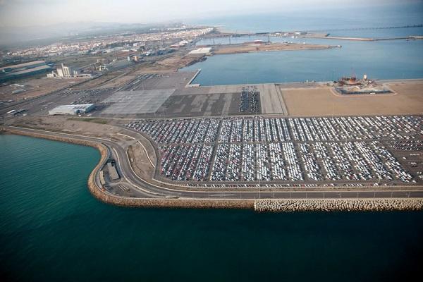 Puerto de Sagunto incrementa un 26% el tráfico de vehículos hasta octubre