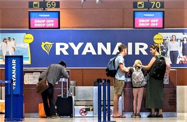 Ryanair equipaje