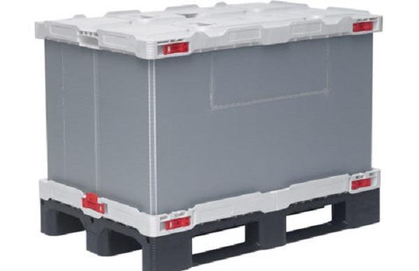 Smart-Flow diseña nueva caja-palet plegable que ahorra espacio