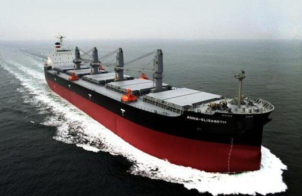 buque granelero
