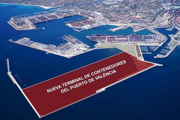 Autoridad Portuaria de Valencia abre convocatoria para nueva terminal de contenedores