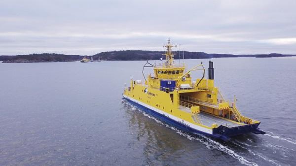 Finferries lleva a cabo su primer trayecto con un ferry autónomo