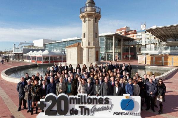 Puerto de Castellón bate récord con más de 20 millones de toneladas