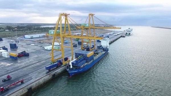 Puerto de Huelva quiere reorganizar los accesos del Muelle Sur