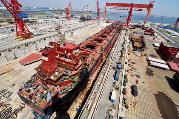 CMA-CGM pide la construcción de diez portacontenedores a astilleros chinos