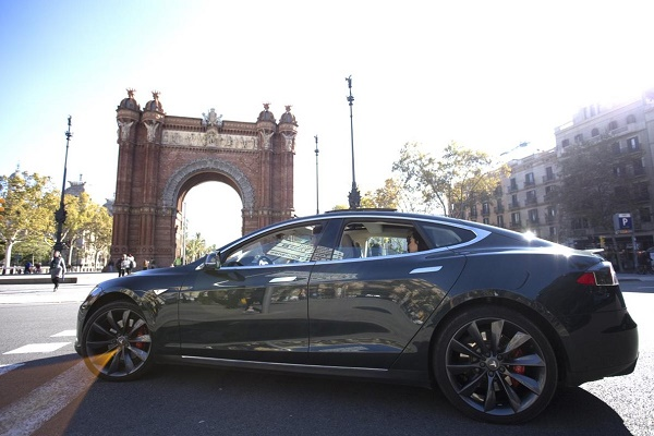 Cabify coches eléctricos Barcelona