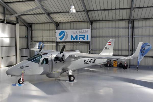Indra Gaerum dron más grande de España