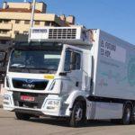 Lidl Mercadona camión eléctrico MAN