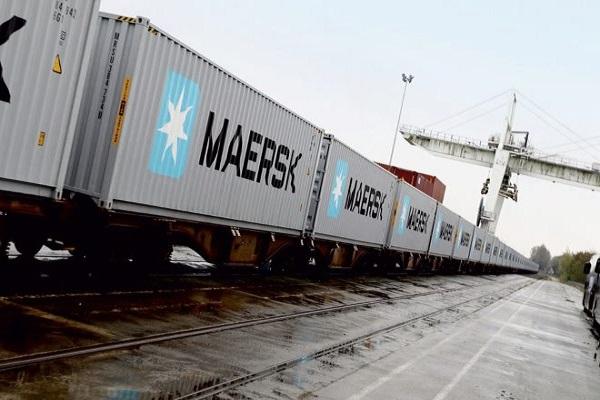 Maersk afianza su servicio Rail Combined