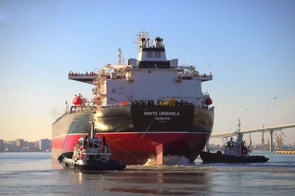 Navantia suministra su tercer petrolero Monte Urquiola al Grupo Ibaizábal