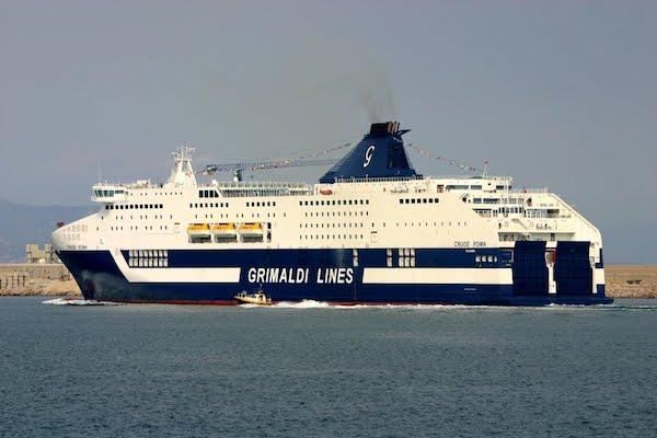 Operador Grimaldi remodela ferrys que cubren ruta entre Italia y Barcelona