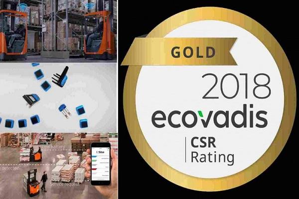 Toyota Material Handling Europe recibe premio EcoVadis Gold por quinta vez