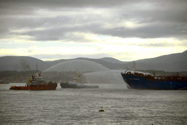barcazas canal de panama