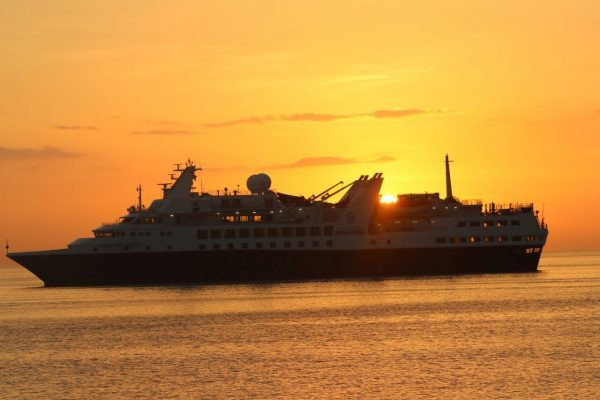 ruta de cruceros pacifico sur