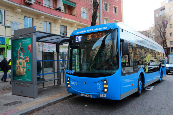 Autobuses Madrid tarjeta móvil
