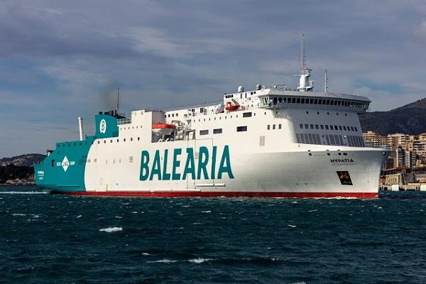 Baleària estrena el primer ferry de GNL del Mediterráneo