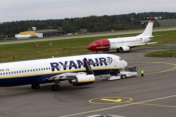 Ryanair Norwegian low cost