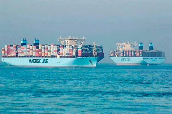 maersk line chile