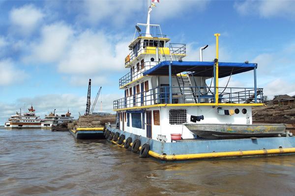 Yurimaguas es el primer puerto fluvial certificado de Perú