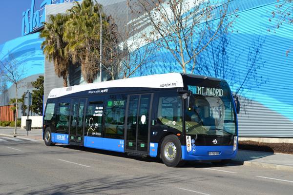 Alstom autobús eléctrico
