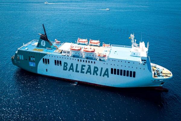Baleària y Fred Olsen integran su primer ferry GNL en conexión Huelva-Canarias