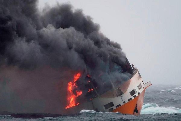 Grimaldi comienza su plan anticontaminación para moderar vertidos del buque Grande América