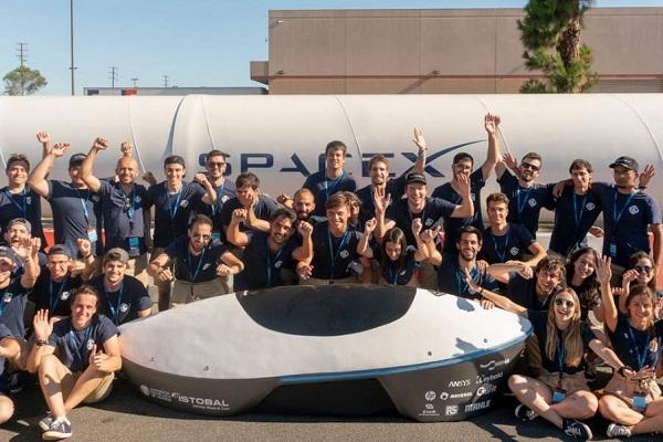 Hyperloop UPV primer monoraíl España