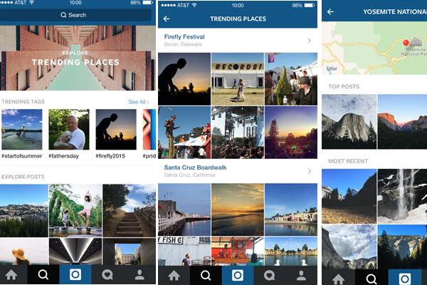Instagram reservas turismo