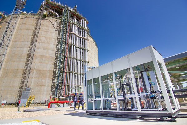 Puerto de Huelva comienza su proyecto para ser hub logístico del frío