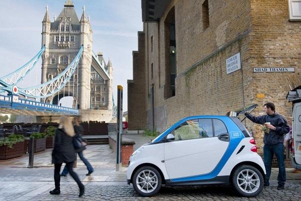 Smart carsharing
