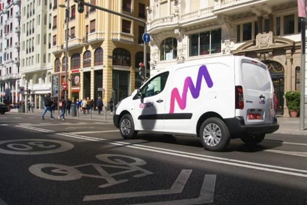 emov furgonetas eléctricas Madrid