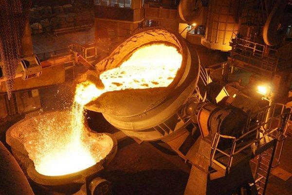 produccion de acero
