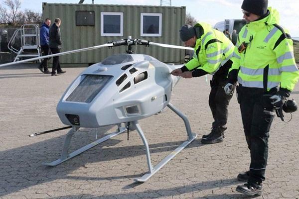 Autoridad Marítima Danesa inspeccionará con drones las emisiones de azufre