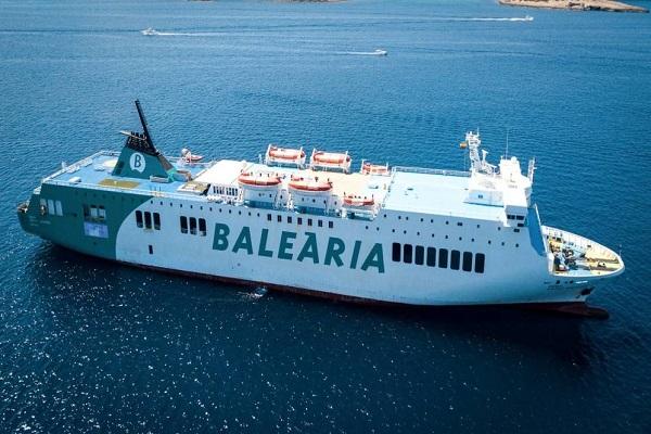 Baleària incorporará sensores y equipos que medirán el consumo de combustible