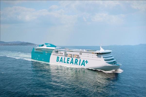 Baleària supera los 5 millones de metros lineales de carga en 2018