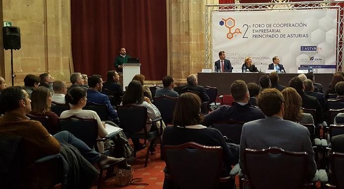 II Foro de Cooperación Industrial de Asturias jesus alonso y grupo daniel alonso
