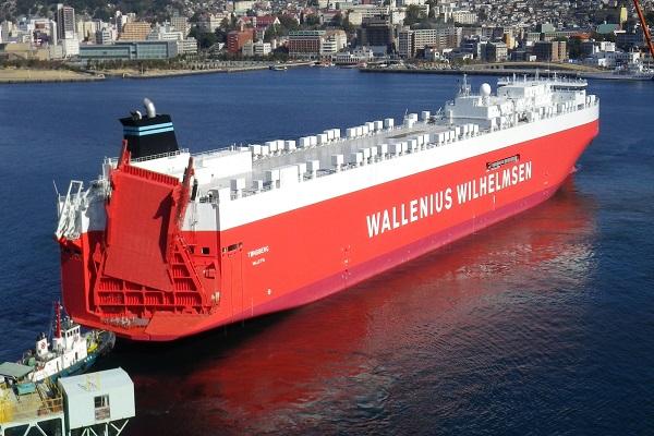 Naviera Wallenius incorpora nuevo buque ro-ro a su flota